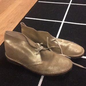 J.Crew Gold Women's Chukka Boots
